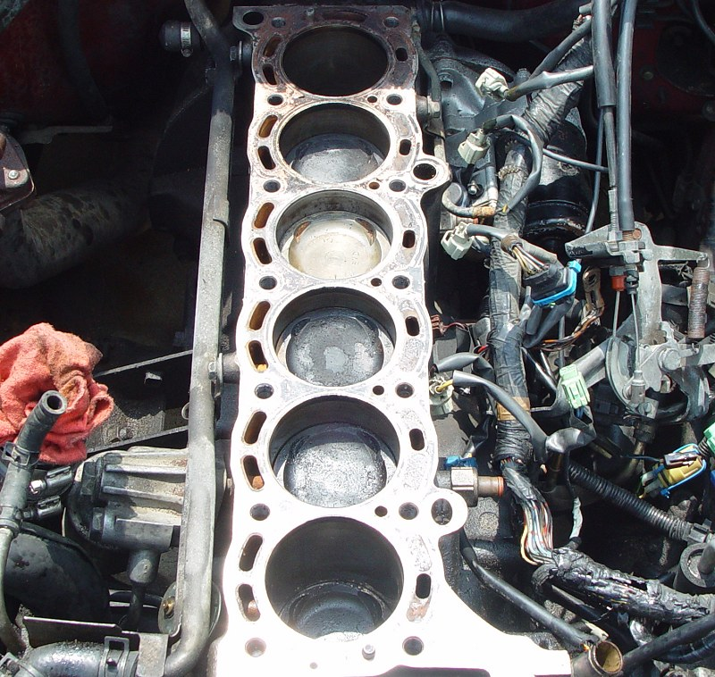 how to fix a cracked engine head